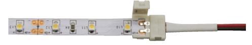 Монтаж светодиодной ленты коннектором как вставлять