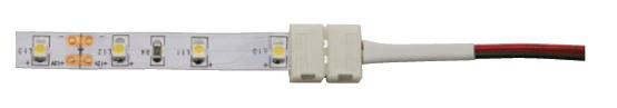 Монтаж светодиодной ленты коннектором как закрепить